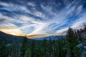 Sierra Nevada Clouds by CapturetheAdventure