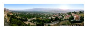 The Zabadani Plain by AnubisGraph