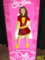 Mary Marvel Becomes A Hypnotized Doll by The-Mind-Controller