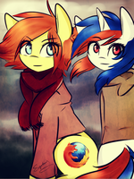 Firefox and Safari by Sugarberry3693