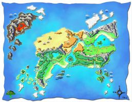 Dreamscape: Eden - Map by Exiled-Artist