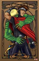 Wiccan[slash]Hulkling by TyrineCarver