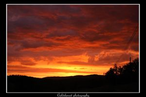 red sky at night... by cieldelanuit