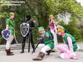Legend of Zelda by DragonCitySquad