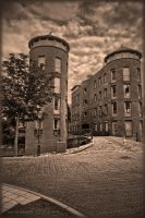 Old and new in Amersfoort the Netherlands by Peenbuiker