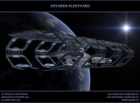 STAR TREK - Space-Dock 2380 by ulimann644