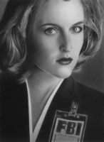 Special Agent Dana Scully by jojokersina