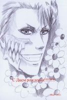 Grimmjow by Anshell