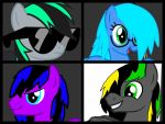 Digi's Mane 6 So Far by DigiTeku