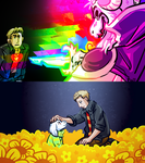 The Misanthropic Lord finishes UNDERTALE by JimPAVLICA