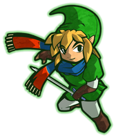 Hyrule Warriors Link (Wind Waker Style) by CatchShiro