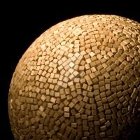 Wooden Sphere detail by wags9452