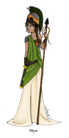 Greek Goddess: Athena by JadeAriel