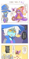 Lulu and Veugar - What does the evil mean? by yan531