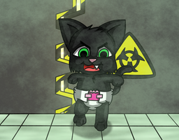 Zombie Kitten by KittyPrav