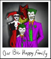 Our Big Happy Family by PictureThisDeviant