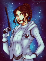Princess Leia by 7Lisa