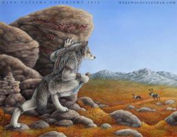 Hunting Grounds Werewolf Calendar by darknatasha