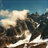 Mont Blanc range by jup3nep