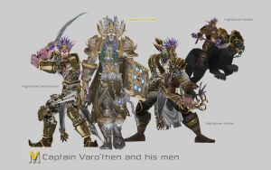 Captain Varo'then and his men by Vaanel