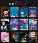 2015 Summary of Art by shinysentret