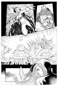 Zenescope's Realm War test page 02. by elnota