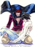 DeathNote - Checkmate -color- by SylviaDraws