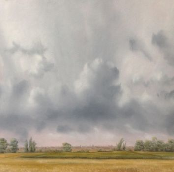 Rain clearing, Cambridge, late July by DonStubbs