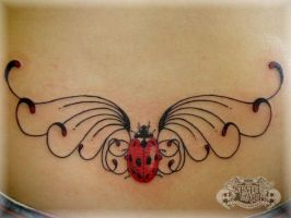 Ladybird by state-of-art-tattoo
