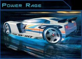 Jimmy's car - modified Power Rage by Dragonoid4ever