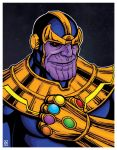 Thanos by TheRigger