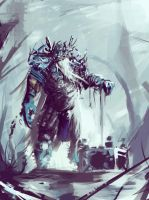 Ice Warrior by Gruncirius