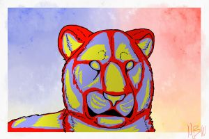 tiger of collors by werethewindblows