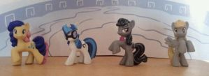Some Blind Bag Ponys - custom Made by CelestPapermoon