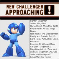 Smash Bros 4. Newcomer #1 MegaMan by FireFeyRose412