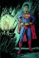 Superman with Kandor Color by NickJustus