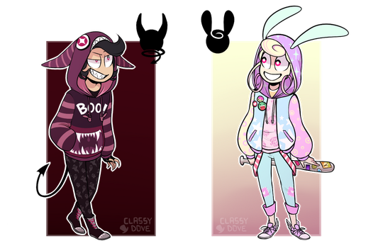 [CLOSED] Hoodie Pals Auction by crystalmemes