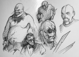 Outlast sketches by otoimai