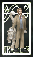 Lord Asriel - The Traveler by ErinPtah