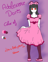 .::Reference::. Adolescence Doris by Nite3007
