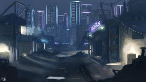 Cybercity Knights - High Tech, Low life by BadLuckArt