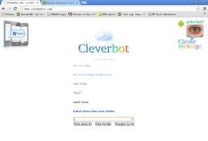 Cleverbot ships it too by CHASlNG-GHOSTS