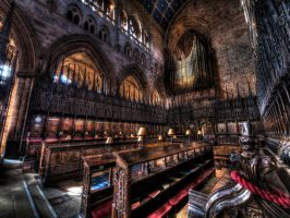 Carlisle Cathedral II by kubica