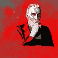 Christopher Lee by EvilLion