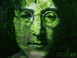 Imagine ' John Lennon by sorrowdiess
