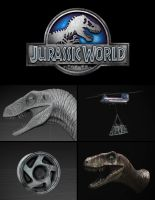 Jurassic World - Teaser Trailer by MB-CG