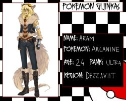 Pokemon Gijinkas - Aram :evolved: by lordmegi