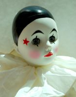 Clown Doll Stock 5 by chamberstock