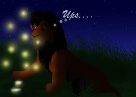 Luke And The Fireflys by werewolftg