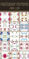 Photoshop Patterns - Pack 09 by punksafetypin
